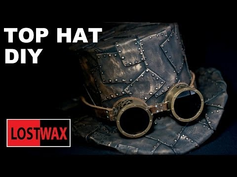 How To Make A Top Hat. DIY Steampunk Fashion Pattern Tutorial