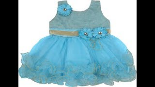 Mordern Frock Collection's With 1 Year Baby's || Latest  High Quality Baby Girl Dress Collections