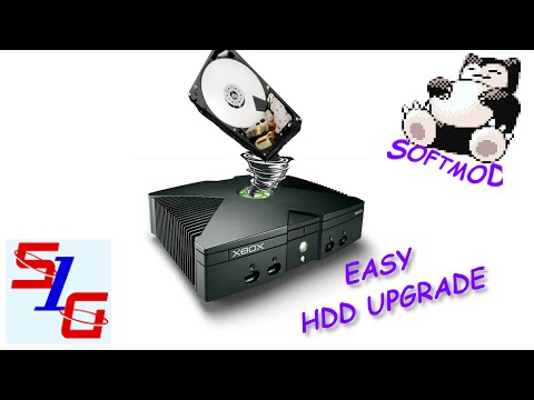 How To Upgrade HDD in SoftMod Xbox Easy 2015