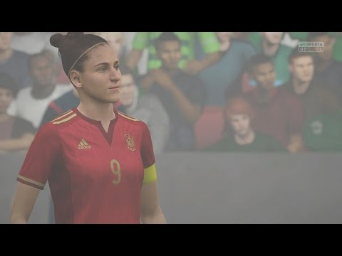 EA SPORTS FIFA 16 - Mexico v Spain (Womens) (FOG) Gameplay [
