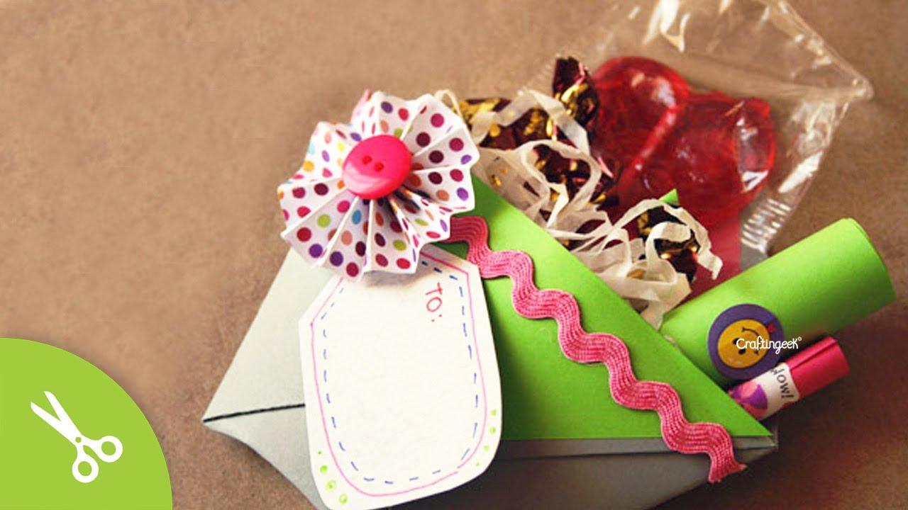 Vasito de papel dulces regalito carta detalle - Regalos faciles y rapidos ...