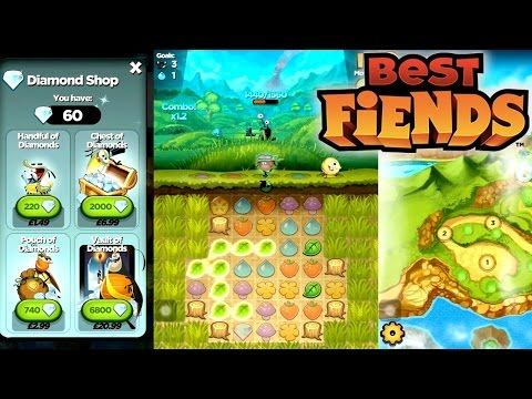 Let's Play Best Fiends #1 - First 30 Mins, In App Purchases, Ex Angry Birds Staff