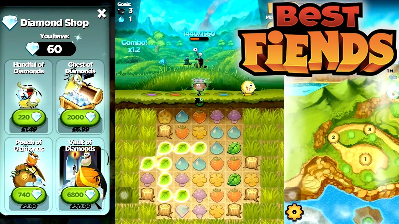 Image currently unavailable. Go to www.generator.bulkhack.com and choose Best Fiends image, you will be redirect to Best Fiends Generator site.
