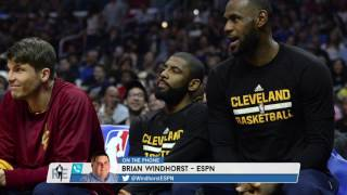 ESPN NBA Senior Reporter Brian Windhorst Talks Kyrie Irving Situation & More - 7/24/17