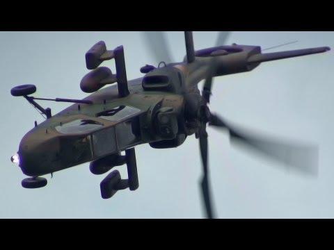 激機動!Oh-1 Ninja 陸上自衛隊 デモフライト 航空ページェント 丘珠空港