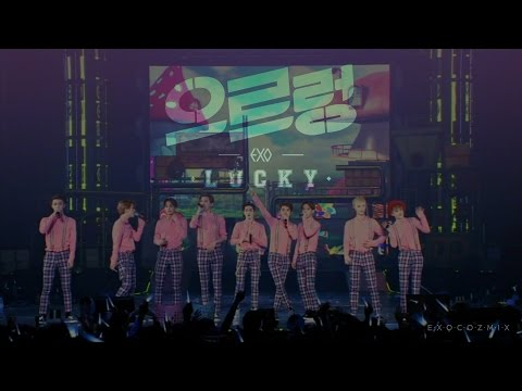 #15 EXO _ LUCKY + 3.6.5 The Exo'luxion In Seoul DVD