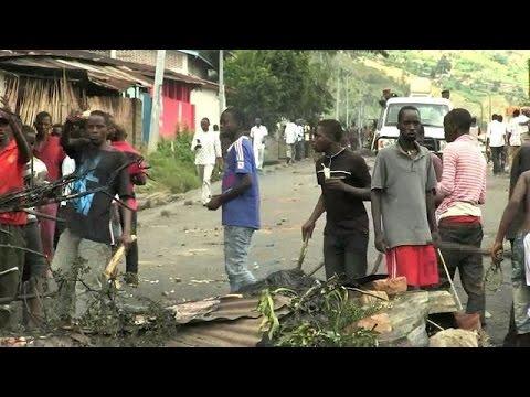 Burundi: manifestation contre un 3e mandat de Nkurunziza