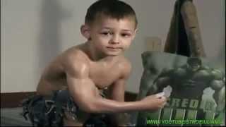 Super strong boy!!!