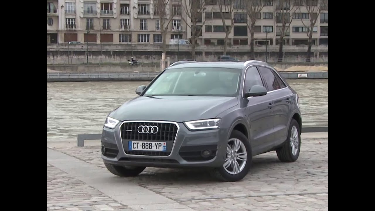 essai audi q3 2 0 tdi 140 quattro ambition luxe 2014 youtube. Black Bedroom Furniture Sets. Home Design Ideas