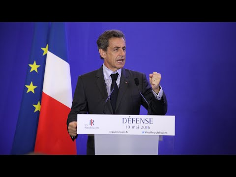 Journée de travail sur la Défense - Discours de Nicolas Sarkozy