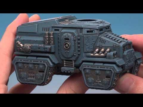 Militarum Tempestus: Painting the Taurox Prime (Part 2 of 2).