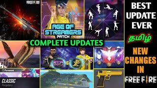 FREE FIRE JUNE PATCH UPDATE FULL DETAILS IN TAMIL | BEST EVER UPDATES & CHANGES | TAMIL TUBERS