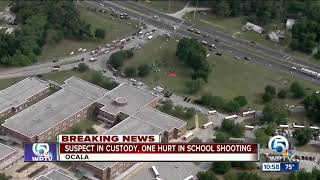 1 person injured in Ocala school shooting