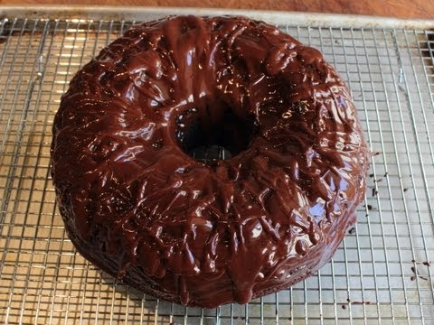 Chocolate Sour Cream Bundt Cake - Easiest Chocolate Cake Recipe Ever!