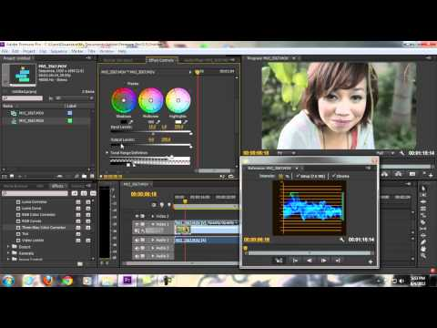 Premiere Pro Tutorials - COLOR CORRECTING and COLOR GRADING - Part 1