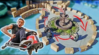TOY DRIFT CAR RACETRACK! *BEST TIME WINS*