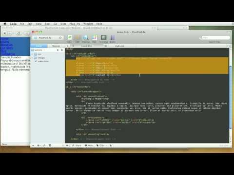 0 Corporate Template Programming   Navigation Styles   03