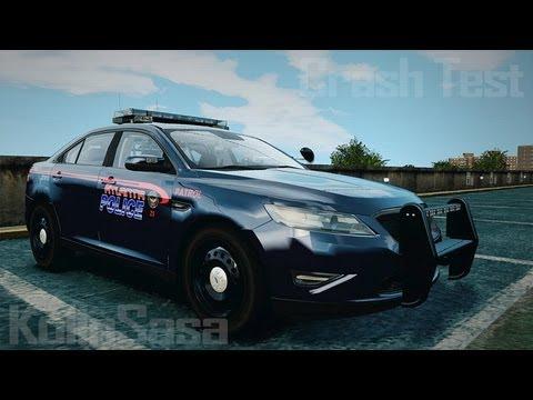 Ford Taurus 2010 Atlanta Police [ELS]