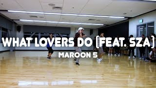 Download Lagu What Lovers Do (feat. SZA)- Maroon 5 | Robe Bautista Choreography Gratis STAFABAND