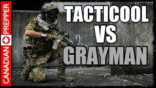 Tactical Douchbag VS Grayman