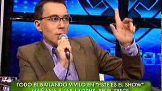 Showmatch 2010 - El descargo de Virginia Gallardo