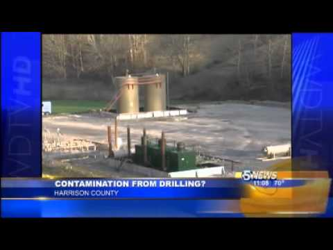 """Living Next to a Natural Gas Well; Drinking Contaminated Water"": WDTV West Virginia 03-21-12"