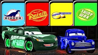 Cars 3 Fabulous Lightning McQueen Colors | Best Racing Ending - Cars 3: Driven to Win 2017