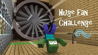 Monster School : Huge Fan Challenge - Minecraft Animation