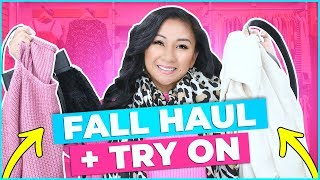 FALL CLOTHES HAUL + TRY ON! | Target, Vici Collection, Amazon, WOMN