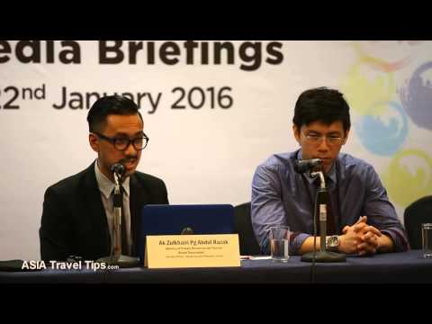 Sharia Law and Tourism in Brunei Question at ATF 2016 Press Conference - HD