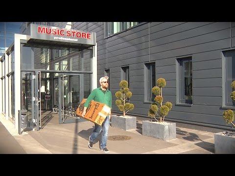 Einkaufserlebnis MUSIC STORE in Köln - Heinz kauft eine Gibson!