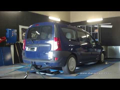 * Reprogrammation Moteur * Dacia Logan dci 85cv @ 110cv Dyno Digiservices Paris
