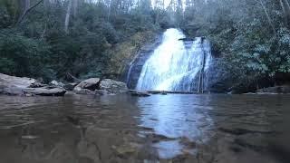 Underwater + waterfall