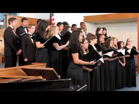 Newbury Park Adventist Academy Choir - Come Just as You Are