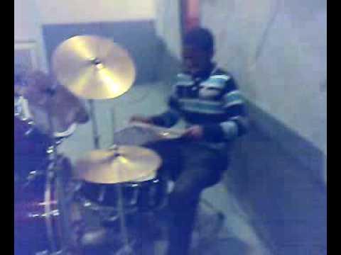 Youth Practising Lingala Gospel Music video