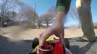 Ofna Ultra LX RC 4wd Buggy In Action, On Board Shots