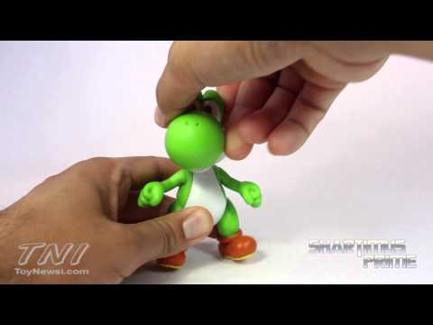World of Nintendo Yoshi Toy Jakks Pacific Aciton Figure Review