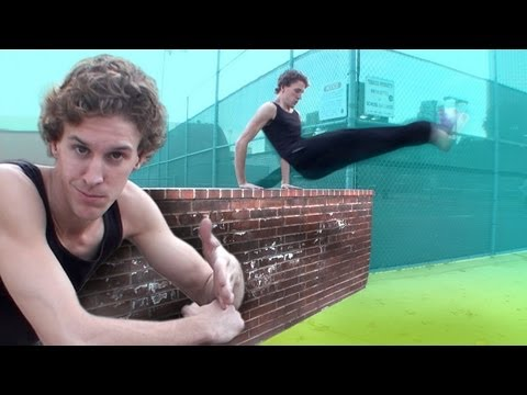 DASH VAULT TUTORIAL ( HOW TO - BEGINNER PARKOUR ) - Jesse La Flair