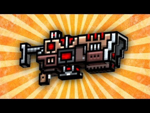 Pixel Gun 3D - Railgun [Review]