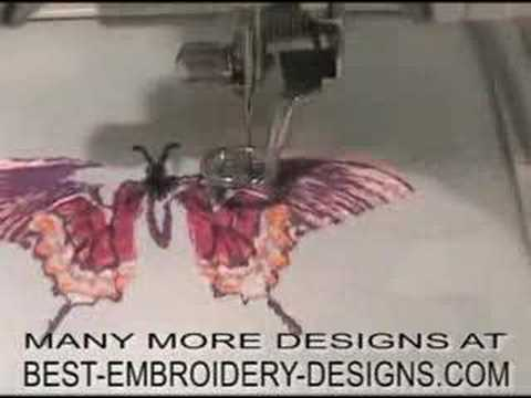 Machine Embroidery Designs - YouTube