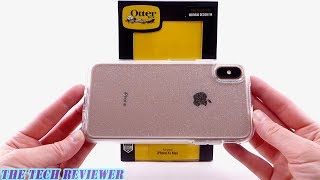 OtterBox Symmetry Stardust: Crystal Clear Protection with Glitter for iPhone Xs Max!