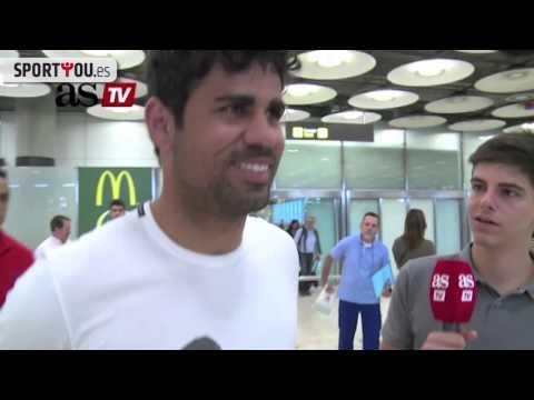 Morata habla sobre su lesión en la rodilla