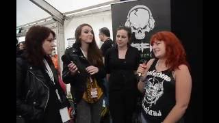 Amorettes TBFM Interview Download Festival 2016