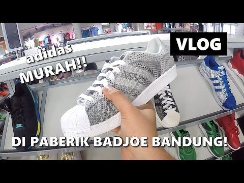 ADIDAS MURAH! DI Adidas Outlet Store PABERIK BADJOE BANDUNG! |The Permanas VLOG | Indonesia