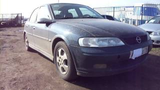 2000 Opel Vectra. Start Up, Engine, and In Depth Tour.