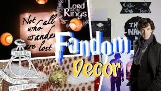 DIY Fandom Inspired Room Decor | Room Decor for Nerds