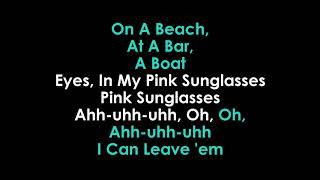 Miranda Lambert Pink Sunglasses Karaoke