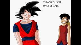 Potara Fusion Project Goku and Luffy