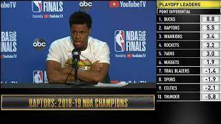 Kyle Lowry Press Conference | NBA Finals Game 6
