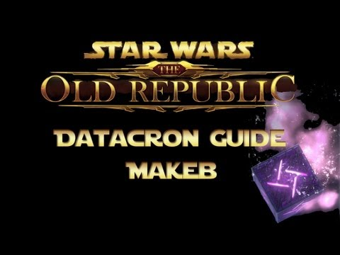 SWTOR Datacron Guide Makeb